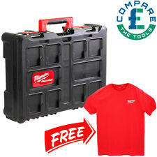 Milwaukee 4932464087 Weatherproof Packout Toolbox With Large Red Work T-Shirt