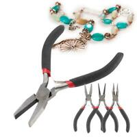 Professional DIY Mini Round Sharp Nose Jewelry Pliers Handmade Steel Tools Kit