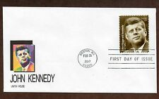 2017 John F. Kennedy ~ Vintry Cachet First Day Cover