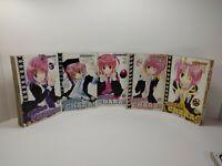 SHUGO CHARA!! VOLUMES 1-5 & 7 DEL REY MANGA LOT IN ENGLISH!