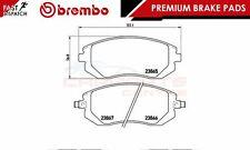 BREMBO GENUINE ORIGINAL PREMIUM BRAKE PADS PAD SET FRONT AXLE P78013