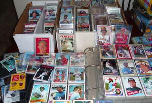 Huge LOT Appx. 6+lbs-2000 Baseball Cards FLAT RATE BOX Rookies Inserts HOF STARs