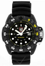 Luminox Xs.1555 Scott Cassel Deep Dive Carbon Rubber Band 45mm Men's Watch 30atm