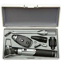 HEINE mini 3000 Diagnostic Set XHL Ophthalmo Otoscope Lamp Mirror D-853.10.021
