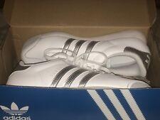 Adidas Originals Mens Samoa Shoes sz 9 US White/Silver/Grey