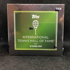 2019 Topps Tennis Hall of Fame Sealed 50 Card Set - Naomi Osaka Rookie + Federer