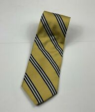 Brooks Brothers Makers Classic Yellow/Navy striped tie