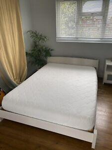Warren Evans Japanese-Style Low Double Bed & Memory Foam Mattress