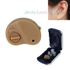Small In The Ear Invisible Best Sound Amplifier Adjustable Volume Hearing Aids