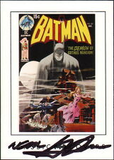 Neal Adams SIGNED Batman 227 DC Archive Comic Art Card Detective Comics 31 Swipe