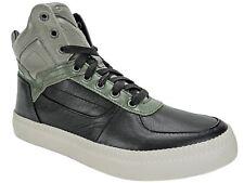 Diesel Men's V is for Diesel S-Spaark Leather High-Top Sneakers Black Size 8 M