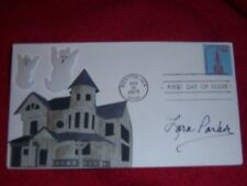 Lara Parker Dark Shadows one of a kind Signed/Autographed 3-D Postal Cover