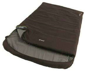 Outwell Campion Lux Luxury Double Sleeping Bag - Brown RRP £65.99 -