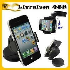 SUPPORT VOITURE UNIVERSEL HOLDER APPLE IPHONE4 5 SAMSUNG GALAXY SMARTPHONE 48h