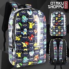 Pokemon GO Anime Unisex Everyday Backpack (Black)
