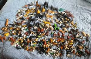 Very Large Collection Of Resin & Plastic Toy Play Animals