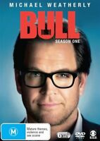 Bull : Season 1 (DVD, 6-Disc Set) Michael Weatherly : NEW DVD