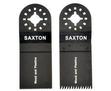 2 Lama Saxton Mix A per Fein Multimaster Bosch Attrezzo Multifunzione Oscillante