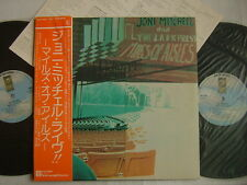 JONI MITCHELL MILES OF AISLES / 2LP JAPAN OBI