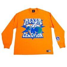 Tee shirt CATCH WWE JOHN CENA orange manches longues taille M ou L