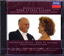Kiri Te KANAWA Richard STRAUSS Vier letzte Lieder SOLTI CD  Four Last Songs NEU