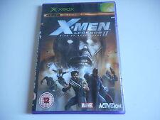 JEU XBOX - X MEN LEGENDS II RISE OF APOCALYPSE - COMPLET