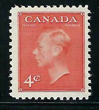 """CANADA - SCOTT 306 - VFNH - KING GEORGES VI WITH """"POSTES-POSTAGES"""" - 1951"""