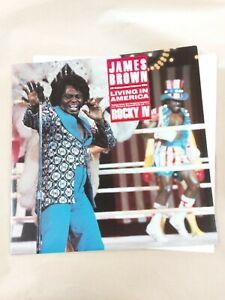"James Brown - Living In America - 12"" Single"