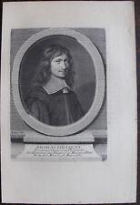 NICOLAS FOUCQUET PROCUREUR GENERAL DU PARLEMENT (1615-1680), PORTRAIT