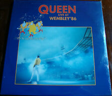 Queen Live at Wembley 86 Parlophone ‎1992 Originale Prima Stampa Italy Sealed LP