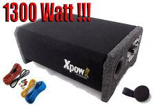 """SUBWOOFER per AUTO 8"""" ATTIVO AMPLIFICATO 1300 WATT 20 CM. BOX CHIUSO-REFLEX!!!"""