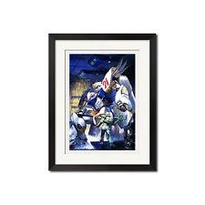 Mobile Suit Gundam x Takani Yoshiyuki Wonder Art Poster Print 0768