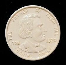 American Hero Play Coin Daniel Boone Vintage Play Money Plastic Toy Premium