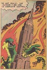 Godzilla # 11 - 8 x 10 Tee Shirt Iron On Transfer Do not panic