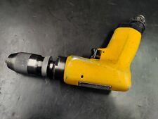 Atlas Copco Air Drill Pistol Grip Lbb24 H045 Keyless Chuck 14 Cap 4500 Rpm
