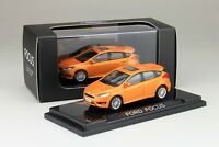 1/64 Scale Ford Focus 2012 Orange Diecast Car model Collection Toy