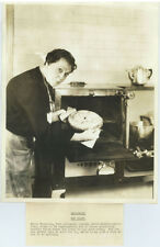 MARIE DRESSLER Now What? Orig 1930s Oversize Photo 10x13 Baking Pie