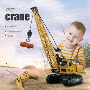 12 Channel Remote Control Crane 12 Channel  RC Crane Truck With Lights & Sound