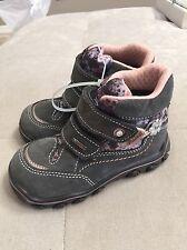 $90 Primigi GORE Tex Girl's Winter Boots Size 25, US 9 Gray Pink Sparkles Warm