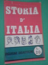 Bustina Figurine Stickers Storia d'Italia Packet Tüten Pochette Baggioli SD