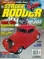 2000 Street Rodder Magazine: Air Ride in a Day/Winshield Wipers/Bench Seat Build