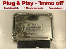 VW Seat Ford 1.9 TDI Diesel ECU 038906019ET 0281010630 * Plug & Play * (IMMO OFF)