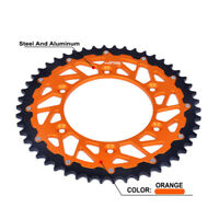CNC Motorcycle Sprocket For KTM 125 144 150 200 250 300 350 380 400 450 520 525
