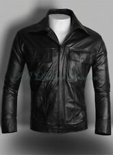 Elvis Men's Black Classic Soft Lambskin Real Leather Fashion Jacket