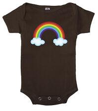 Rainbow Baby Romper, Baby one-piece bodysuit, Cute baby Jumpsuit