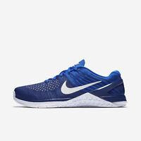 Men's Nike Metcon DSX Flyknit Sz 11.5 Royal Blue/White 852930-402 FREE SHIPPING