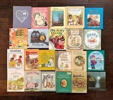 Vintage Children's Hardcover Large Book Lot of 22 Weekly Reader WonderBook