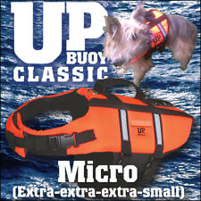 'MICRO' (Extra-extra-extra-small) DOG LIFE JACKET! lifejacket