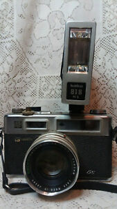 Yashica Electro 35 GS Rangefinder Camera Clean, 45mm f1.7 - Classic  ( Kako flas