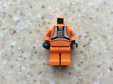 Lego Minifigure Head Star Wars Pilot  H77